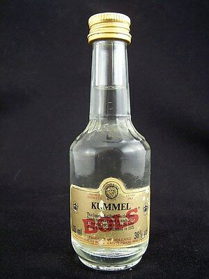 Miniature circa 1985 BOLS KUMMEL LIQUEUR 35ml Isle of Wine