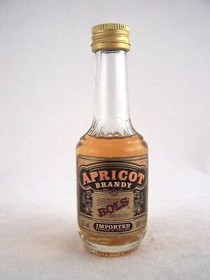 Miniature circa 1985 BOLS APRICOT BRANDY 35ml Isle of Wine