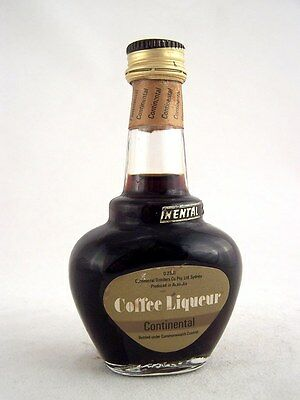 Miniature circa 1978 CONTINENTAL COFFEE LIQUEUR Isle of Wine
