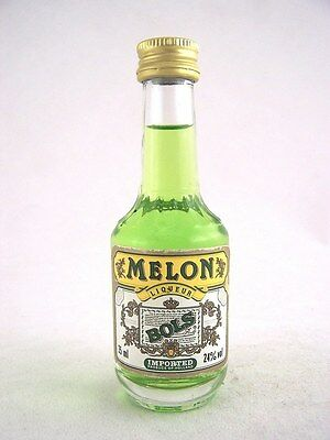 Miniature circa 1985 BOLS MELON LIQUEUR 35ml Isle of Wine