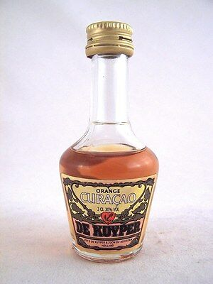 Miniature circa 1980 DE KUYPER ORANGE CURACAO 3cl Isle of Wine
