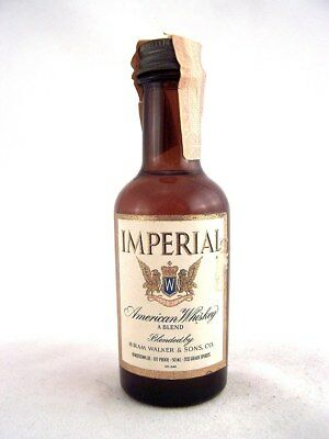 Miniature circa 1970 IMPERIAL AMERICAN WHISKEY Isle of Wine