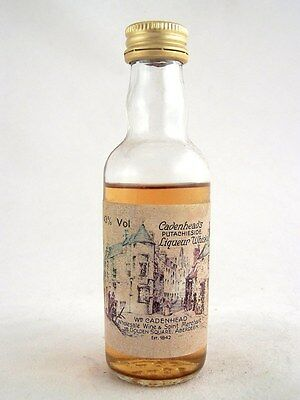 Miniature circa 1975 CADENHEAD PUTACHIESIDE WHISKY Isle of Wine