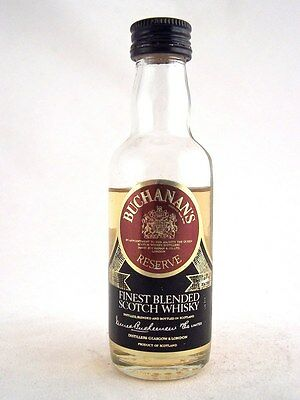 Miniature circa 1980 BUCHANANS RESERVE Scotch Whisky Isle of Wine