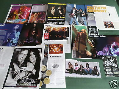 The Black Crowes - Rock Band - Clippings /cuttings Pack