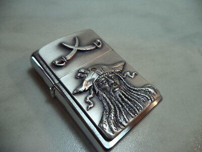 Zippo Accendino Lighter Serie Pirates Modello 6 New
