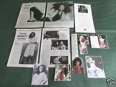 Lisa Bonet - Film Star - Clippings /cuttings Pack
