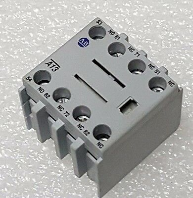 Allen Bradley 100-F A13 Auxiliary Contact Block