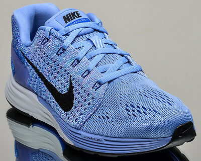new style 1d278 aea88 NIKE WMNS LUNARGLIDE 7 VII womens running run sneakers blue black 747356-404