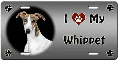 Whippet License Plate - Love