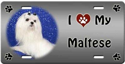 Maltese License Plate - Love