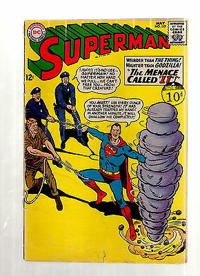 "Superman # 177 / V.good- / The Menace Called ""it""."