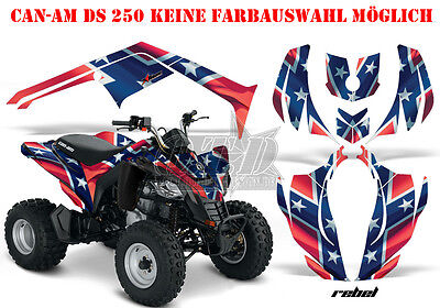 Amr Racing Dekor Graphic Kit Atv Can-Am Renegade,ds250, Ds450, Ds650 Rebel B