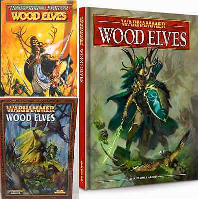 Wood Elves Warhammer Army Book various editions select