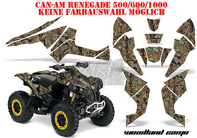 Amr Racing Dekor Graphic Kit Atv Can-Am Renegade,ds250, Ds450, Ds650 Woodland B
