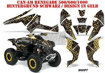Amr Racing Dekor Graphic Kit Atv Can-Am Renegade, Ds 250, Ds 450, Ds 650 Swift B