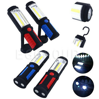 800 Lumens Rechargeable Lantern LED Work Light Lamp Torch Spotlight + Data Cable