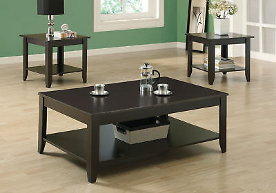 MONARCH Table Set - 3Pcs Set / Cappuccino I-7985 - $234.89 | PicClick