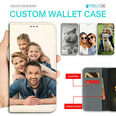 Personalised Wallet leather Case Print Cover for iPhone 7 7 Plus 6s 6 s8 s7 Edge
