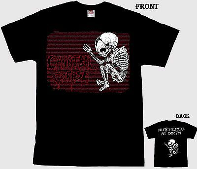 CANNIBAL CORPSE-  Butchered At Birth- death metal band-Tshirt-sizes:S to 6XL