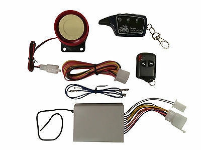 Universal 12V Compact 2 Way Alarm for Motorcycles Motorbikes Trike Quad Scooter