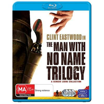 Clint Eastwood The Man with No Name Trilogy Blu Ray Collection RB New Sealed
