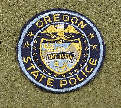33890) Vintage Patch Oregon State Police Sheriff Highway Patrol Old Fire Law