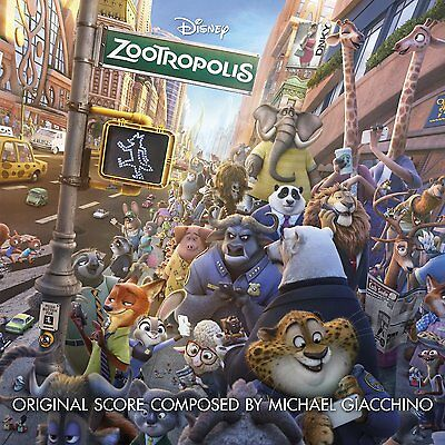Michael Giacchino - Zootropolis - New Cd Album