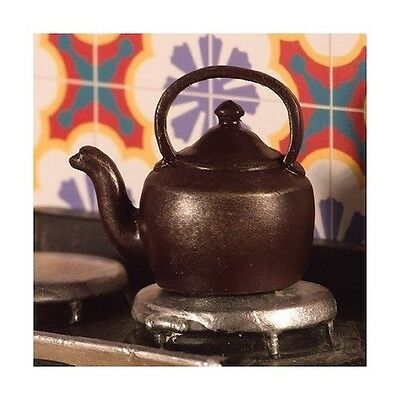 Stove Kettle Dolls House Miniature Kitchen accessory. Cooking 1,12 Scale