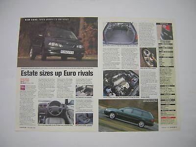 Toyota Avensis 2.0 CDX Estate Road Test from 1998 - Original