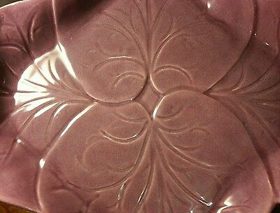 Catalina Art Pottery GMB Gladding McBean Franciscan Lotus Leaf Tray