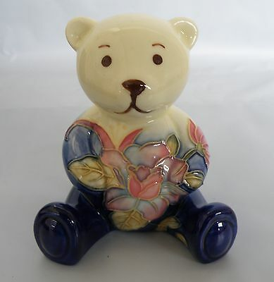 Old Tupton Ware Floral Ceramic Teddy Bear Figurine * New in Box * Bear Gift