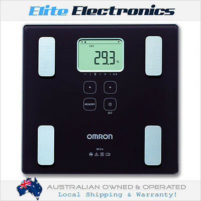 Omron Hbf202 Body Analyser Scale Body Weight Fat Mass Percentage Bmi Bathroom