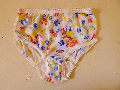 vintage retro true 70s unused girls toddler 3 - 5 yo  briefs underpants NOS