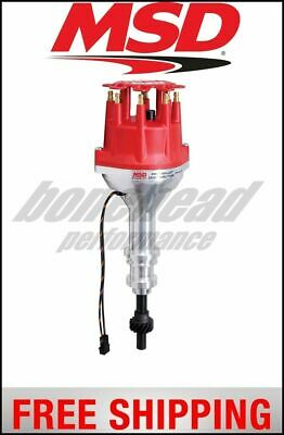 ford 351w 8000 series pro billet magnetic pickup distributor msd ignition distributor ford 351w pro billet small cap