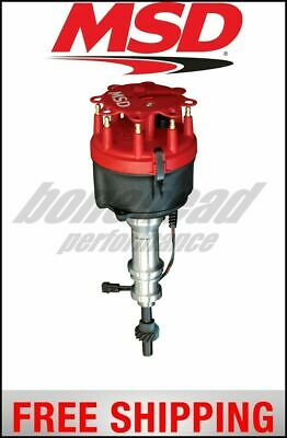 MSD Ignition Distributor, Ford 289/302 Hydraulic Roller Cams, Steel Gear