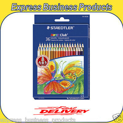 Staedtler Noris Club Heritage Coloured Pencils 36 Pack SR144ND36