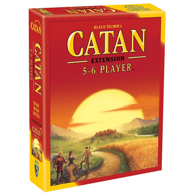 Settlers of Catan 5th edition Core Set Extension for 5-6 Players Board Game