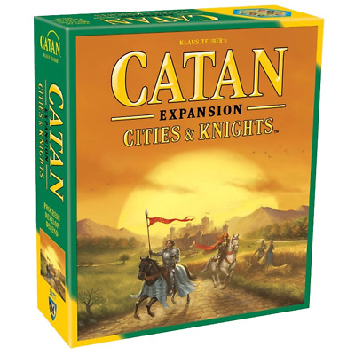 Settlers of Catan 5th Edition CITIES & KNIGHTS Expansion Family Board Games