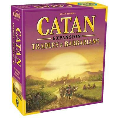 Settlers of Catan 5th Edition Traders & Barbarians Expansion