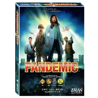 Pandemic Original (2013 Revised Edition) Family Board Game Birthday Holiday Gift