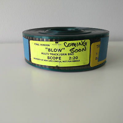 Blow 35mm Movie Film Trailer VGC Australian Seller + Fast Shipping