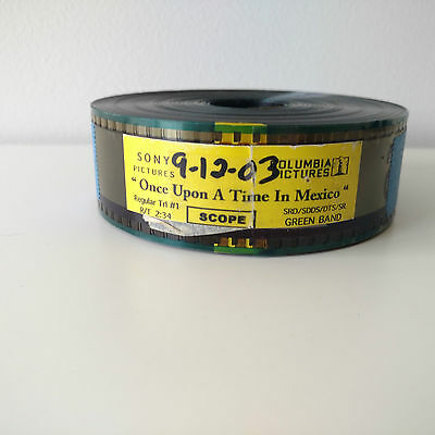 Once Upon a Time In Mexico 35mm Movie Trailer VGC Aus Seller + Fast Shipping