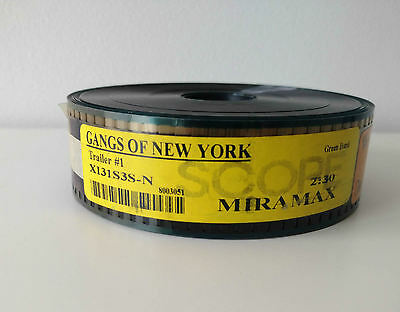 Gangs of New York 35mm Movie Film Trailer VGC Australian Seller + Fast Shipping