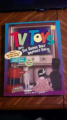 TV Toys and The Shows That Inspired Them SC Book Liljeblad Price Guide Free Ship