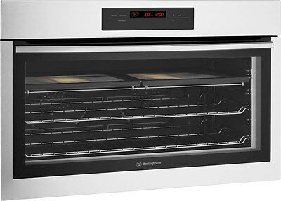 NEW Westinghouse 90cm Electric Wall 125L Oven WVE916SB