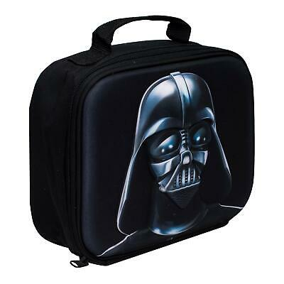 Children Kids Star Wars Darth Vader 3D Image School Travelling Lunch Bag