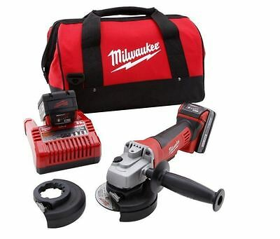 New 18-Volt Lithium-Ion Cordless 4-1/2 in. Cut-Off Wheel and Grinder Tool Only