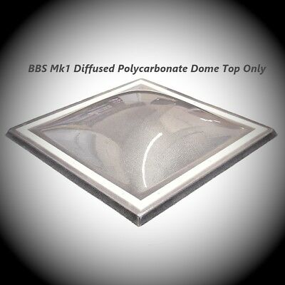 Mk1 Dome Rooflight Flat Roof  Dome Window Without Kerb - 75mm Fixing Flange