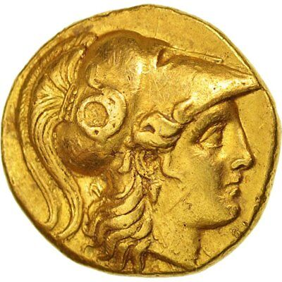[#47352] Macedonia, Alexander The Great, Gold Stater, Babylon, 317-311 BC,...